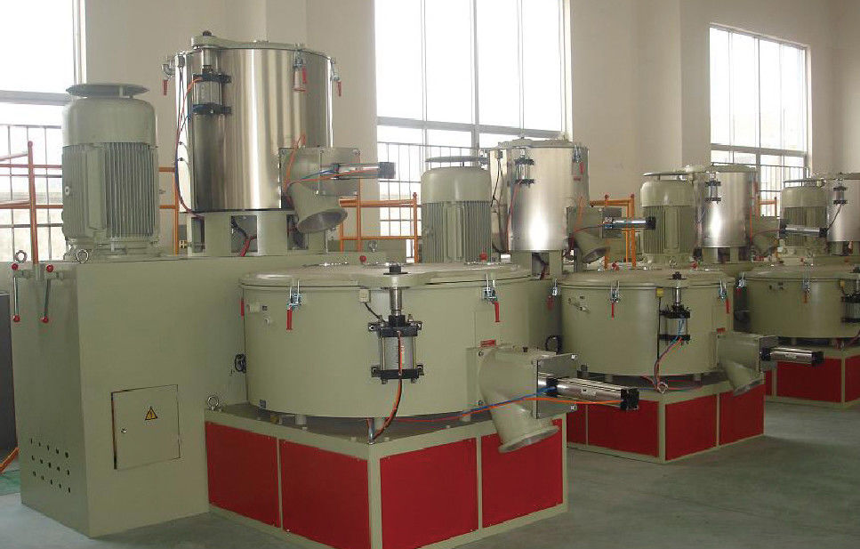 High / Low Speed Mixer Extruder Machine Parts With 500L/1000L 800-1000kg/H